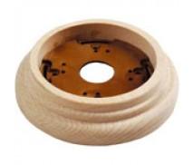 Wandplaat ringen voor 1 element, Beuken
