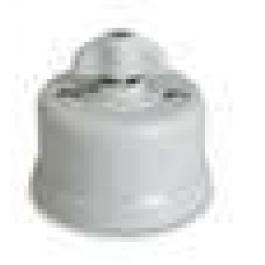 Dimmer (gloeilamp + halogeen) , Wit, Knop retro, 500 Watt